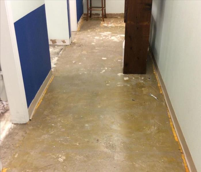Commercial Water Loss to a Dentist's Office in San Antonio, Texas After