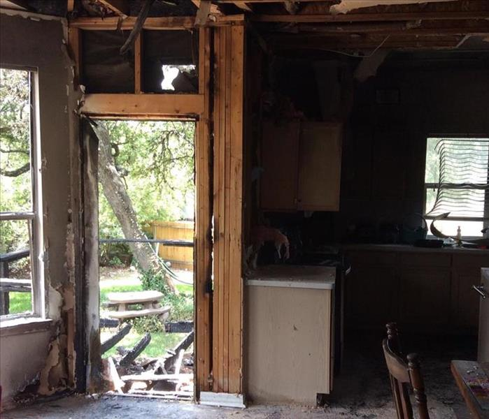 Fire Damage San Antonio Smoke and Soot Cleanup