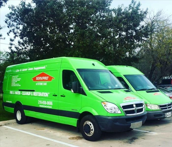 General For Immediate Service in San Antonio, Call SERVPRO of Stone Oak